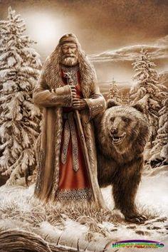 Медведь - Зверь Велесов.Медведь был