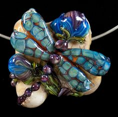 Turquoise Winged #Dragaonfly by #PatsyEvinsStudio,