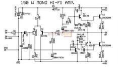 150W-Mono-HI-FI-Amplifier | ELECTROBNL