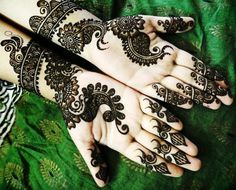Hand & Foot Mehndi Designs New Collection