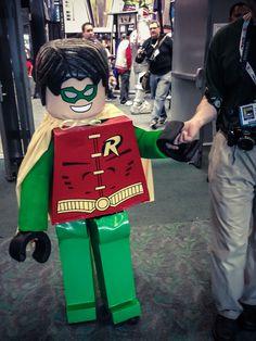 Lego Robin - ComicCon 2013 http://tealeafonthewindphotography.com