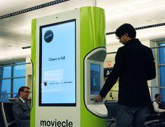 Fadow Moviecle kiosk