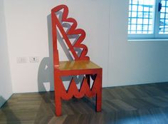 chair by fortunato depero, 1927