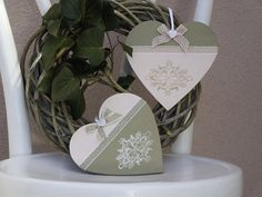 Handmade decorations and gifts in country-style . Shops, Handmade Decorations, Country Style, Designer, Place Cards, Place Card Holders, Etsy, Gifts, Christmas Jewelry