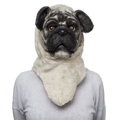 Pug Mask Frightens Children, Confuses Adults. Nightmare Fuel For All -  #mask #nightmare #pug #weird