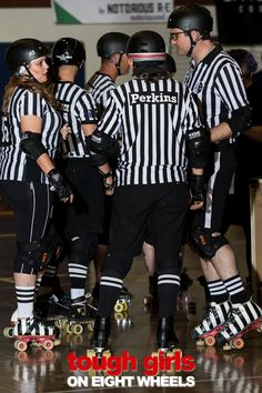 The importance of officials in the derby world.