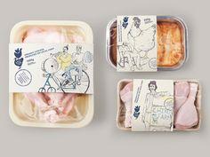 Diy labels Milk and Honey Land is part of Food packaging design, Plastic packaging design, Egg packa Takeaway Packaging, Egg Packaging, Food Packaging Design, Plastic Packaging, Bottle Packaging, Packaging Design Inspiration, Brand Packaging, Coffee Packaging, Pretty Packaging