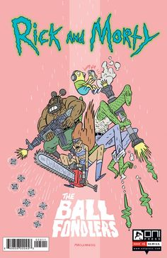 RICK and MORTY 6 Ball Fondlers