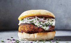 The Tastiest Quinoa and Sweet Potato Veggie Burger + Giveaway