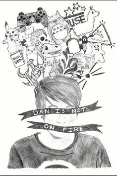 Image result for dan and phil tumblr drawings