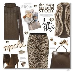 """Mocha"" by jgee67 ❤ liked on Polyvore featuring moda, Precis Petite, Vince Camuto, Fendi, Ralph Lauren Black Label, maurices, Kim Rogers y Aéropostale"