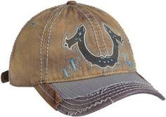 True Religion Men's Horseshoe Ball Cap