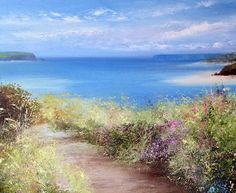Painting land and sea painting course with amanda hoskin artist ...