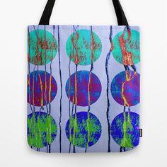 Circles Tote Bag by Maureen Mitchell - $22.00