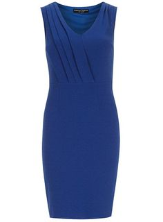 Cobalt crepe pencil dress - New In Clothing - New In