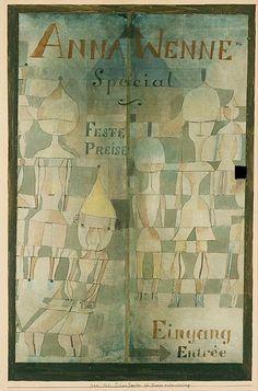 Window Display for Lingerie - Paul Klee, 1922