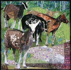 Ruth McDowell amazing quilts