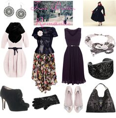 """""""True Winter Romantic"""" by thewildpapillon on Polyvore"""