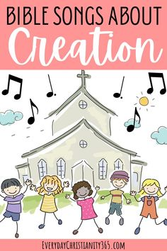 Creation Bible Lessons, 7 Days Of Creation, Creation Crafts, Bible Songs, Fun Songs, Sunday School Songs, Preschool Bible, Bible Stories, Homeschool