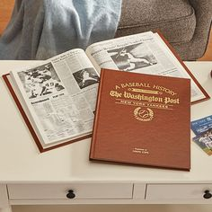 Need a unique gift? Send The Front Page News MLB Sports History Book and other personalized gifts at Personal Creations. Front Page News, In Law Gifts, History Books, New York Yankees, Mlb, Sports, Gift Ideas, Google Play, Sport