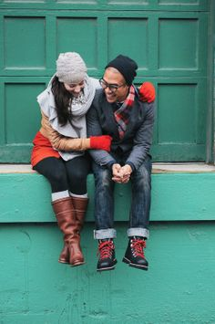 Lifestyle Photography Portraiture Fashion Winter Whimsical Couple © tru-studio.com