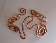 Hand Made Copper Bracelet by CLHJewelryDesigns on Etsy,  SOLD