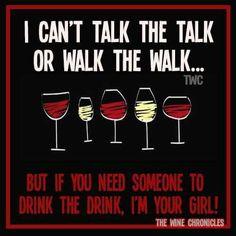 Walk the walk or talk the talk......