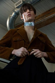 Andrew Podolio at Elite shot by Spencer Judge and styled by Chad Burton with pieces from Som Kong, Atelier Wonder, Prada, Lafaille, Mama Loves You Vintage, Three Eights and more, in exclusive for Fucking... »