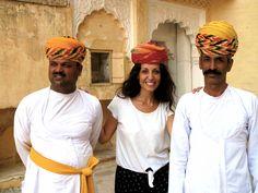 India. Nada como mezclarse con los locales