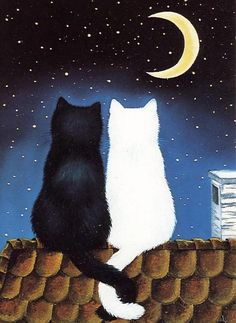 """Edgar - """"I love you to the moon.""""  Kirstie - """"That's nice."""""""
