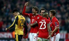 ไฮไลท์ฟุตบอล (UEFA Champions League) ยูฟ่าแชมเปี้ยนส์ลีก บาเยิร์น มิวนิค 5-1 อาร์เซน่อล