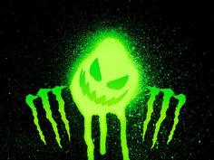 monster | ... minuman energi toh, keren-keren. Logo Monster Energy memang keren
