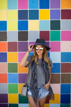 Gal Meets Glam- Color Wall