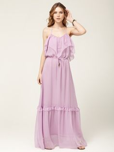6 Shore Road - Woven Panama Lilac Maxi Dress