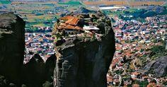Top 11 des photos des monastères des Météores en Grèce un peu plus près des étoiles