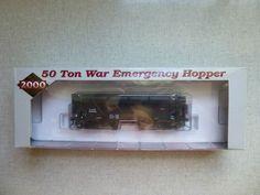 Proto 2000 Series N & W 50 Ton War Emergency Hopper #339032 Steel Sides HO…