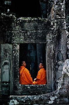 Bayon Wat, Angkor, Cambodia.