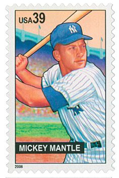 "Would you like to see a Yankees or Mets baseball game when you are in New York for World Stamp Show-NY Click ""Like"" if the answer is yes. Help NY 2016 determine what activities to organize for your enjoyment. Mets Baseball, Baseball Art, Baseball Players, The Mick, Commemorative Stamps, Rare Stamps, Going Postal, Mickey Mantle, Stamp Collecting"