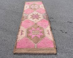 Welcome to Turkish Rug Star by turkishrugstar on Etsy Wool Area Rugs, Wool Rug, Boho Decor, Bohemian Rug, Small Area Rugs, Aztec Rug, Types Of Rugs, Rustic Rugs, Pink Rug