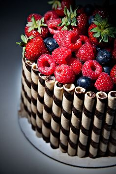 Image result for chocolaTe cake.fresh fruit