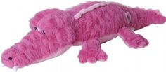 "18"" Posh Plush Pink Alligator at theBIGzoo.com, a family-owned gift shop with 12,000+ animal-themed items."