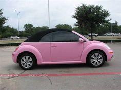 My future car pink bug!