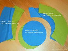 bucket hat pattern for kids
