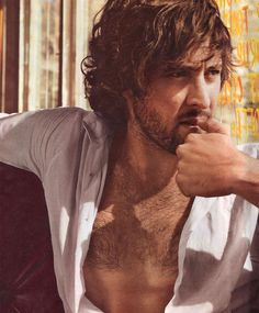 Alex O'Loughlin~I just realized I am clearly attracted to men with medium length dark hair!