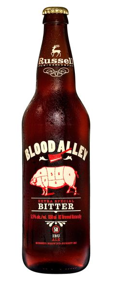 Blood Alley Extra Special Bitter - Brewmaster Series