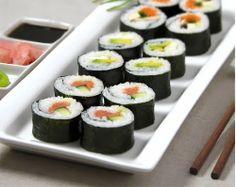 ReceitasDeliciosas: Sushi Fantástico