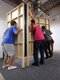 2014 Dimension: x x Materials: mirror, wood, wheels, rubber Mirror Panels, Art Work, Fill, Wheels, Play, Drawing, Future, Wood, Projects