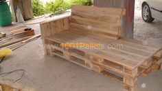 DSC01050 Αντιγραφή 600x337 Best Sofa Pallet The construction is in progress in pallet living room  with