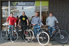 Team biketime heißt euch herzlich Willkommen!  Wir freuen uns auf euren Besuch, Euer Fabian, Wolle, Alex und Stefan!  mehr Details: www.facebook.com/mybiketime _____ Hannover, Fahrrad, Fahrräder, Bike
