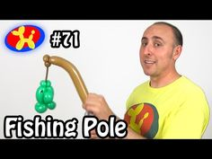Fishing Pole - Balloon Animal Lessons #71 - YouTube
